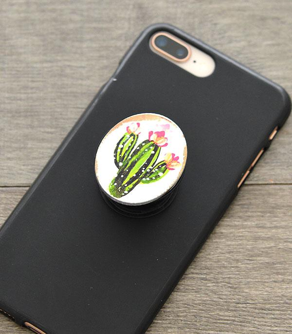 New Arrival :: Wholesale Cactus Pop Phone Stand Accessory