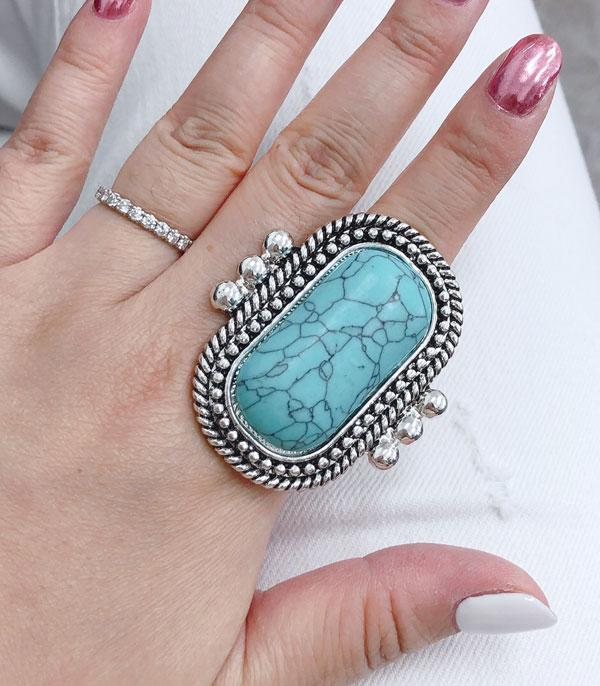 <font color=Turquoise>TURQUOISE JEWELRY</font> :: Wholesale Turquoise Stone Ring