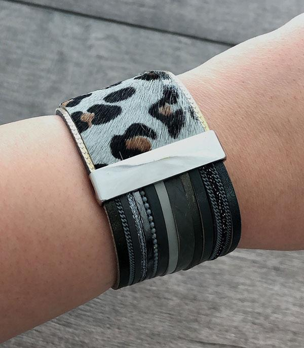 New Arrival :: Wholesale Animal Leather Bracelet