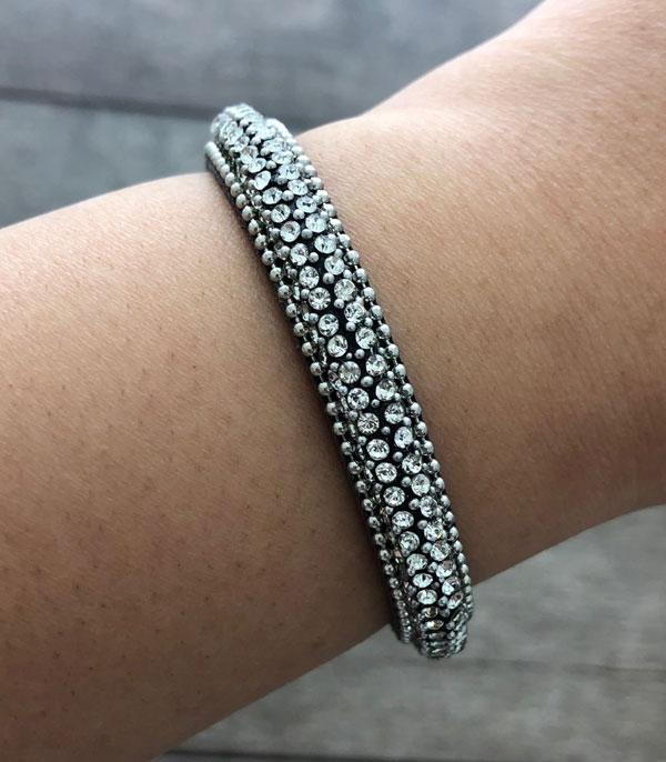 New Arrival :: Wholesale Rhinestone Bling Bracelet