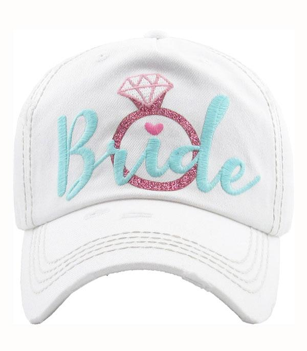 New Arrival :: Wholesale Bride Embroidered Vintage Cap