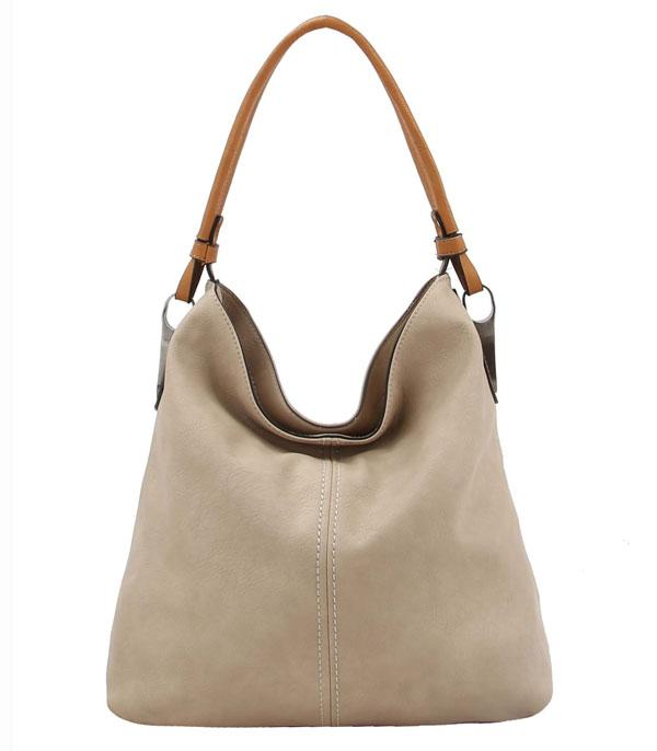 New Arrival :: Wholesale Vegan Leather Fashion Hobo Bag