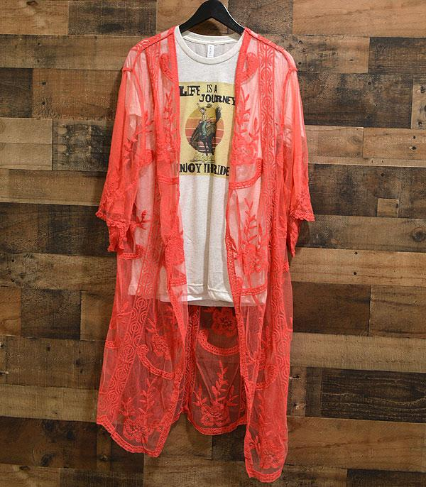 WHAT'S NEW :: Wholesale Lace Duster Kimono CoverUp