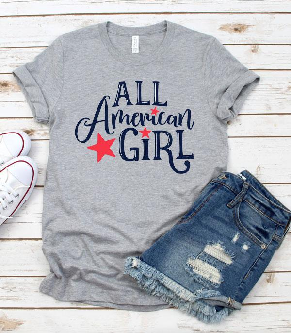 New Arrival :: Wholesale All American Girl Vintage TShirt