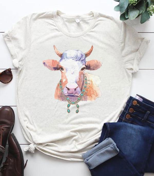 New Arrival :: Wholesale Western Farm Animal Graphic T-Shirt
