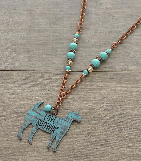 New Arrival :: Wholesale Rustic Farm Animal Showin Necklace