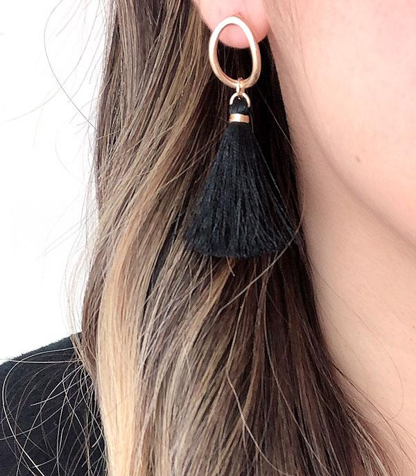 New Arrival :: Wholesale Tassel Fashion Earrings