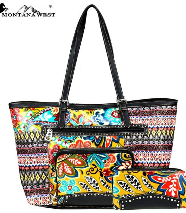 New Arrival :: Wholesale Montana West American Bling Tote Set
