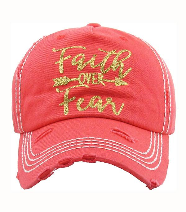 New Arrival :: Wholesale KB Ethos Faith Over Fear Vintage Ballcap