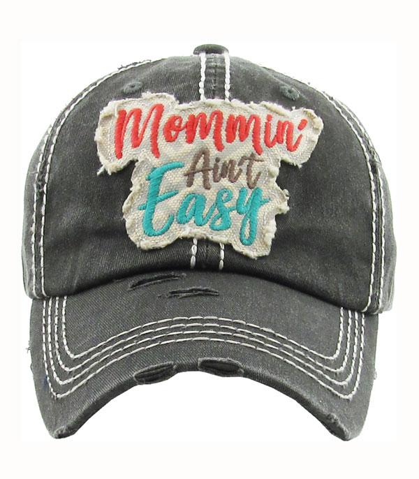 New Arrival :: Wholesale KB Ethos Mommin Aint Easy Vintage Hat