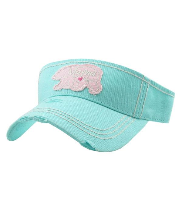 New Arrival :: Wholesale KB Ethos Mama Bear Vintage Visor