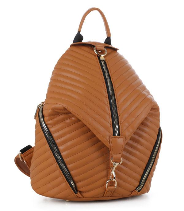 New Arrival :: Wholesale Quilted Fashion Backpack ES-3352