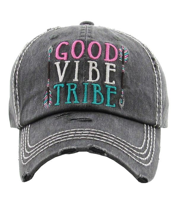 New Arrival :: Wholesale Kb Ethos Good Vibe Tribe Vintage Hat