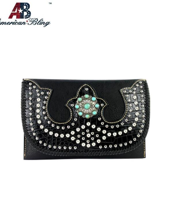 New Arrival :: Wholesale American Bling Crossbody Bag