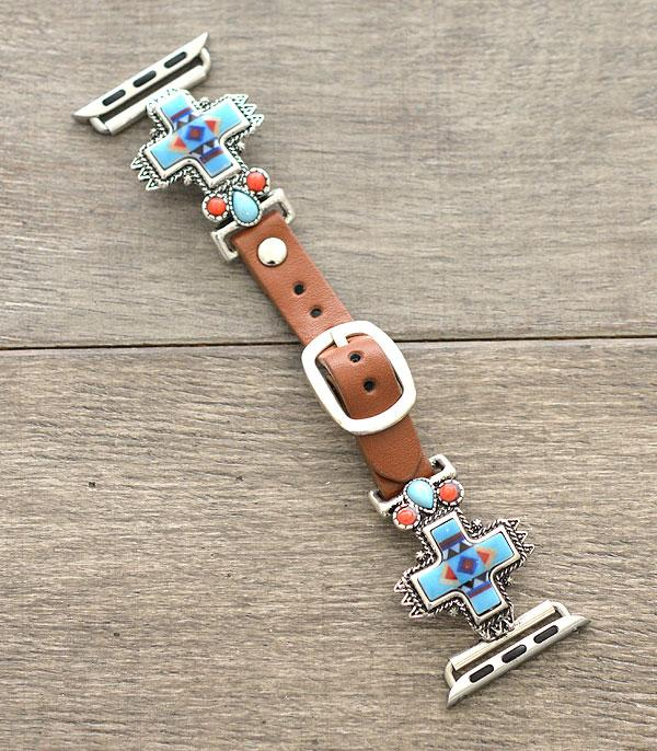 New Arrival :: Wholesale Cross Western Apple Watch Band