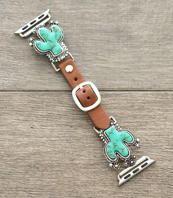 New Arrival :: Wholesale Cactus Western Apple Watch Band