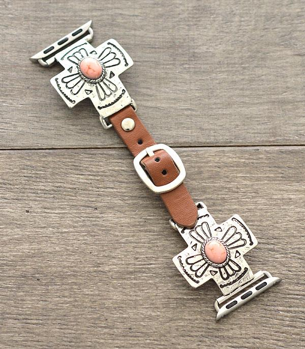 New Arrival :: Wholesale Western Cross Apple Watch Band