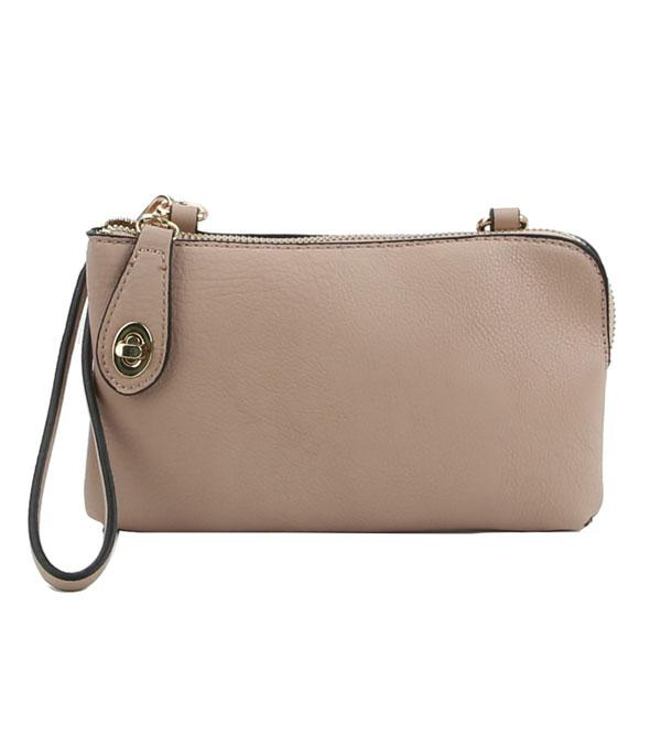 New Arrival :: Wholesale Multi Functional Clutch Crossbody bag