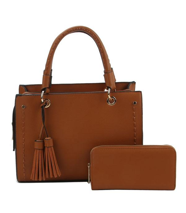 New Arrival :: Wholesale Framed Satchel Wallet Matching Bag