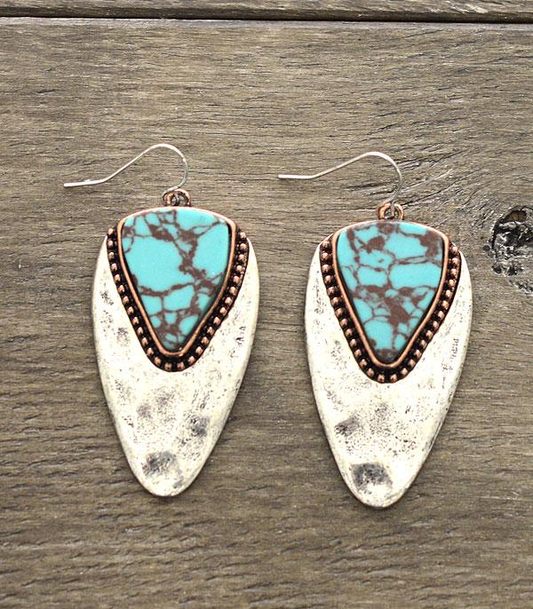 <font color=Turquoise>TURQUOISE JEWELRY</font> :: Wholesale Turquoise Stone Earrings