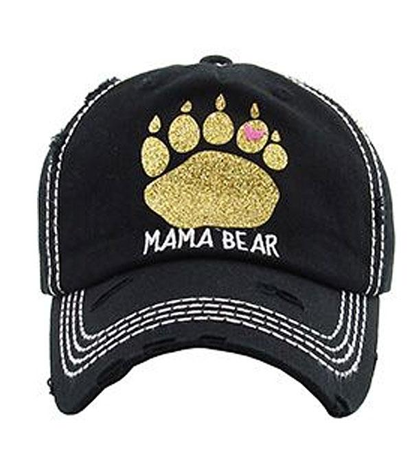 New Arrival :: Wholesale KB Ethos Mama Bear Vintage Hat