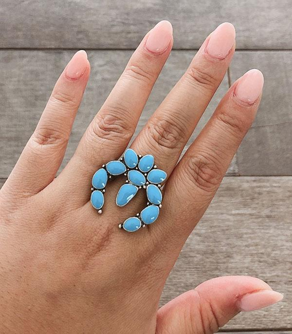 <font color=Turquoise>TURQUOISE JEWELRY</font> :: Wholesale Turquoise Squash Blossom Rings