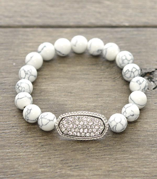 New Arrival :: Wholesale Gem Stone Designer Inspired Bracelet
