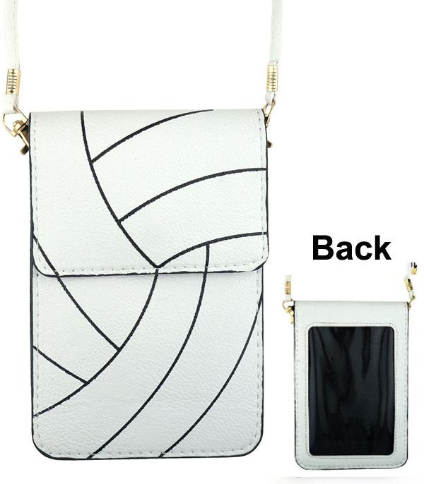 New Arrival :: Wholesale Volleyball Cellphone Crossbody Bag