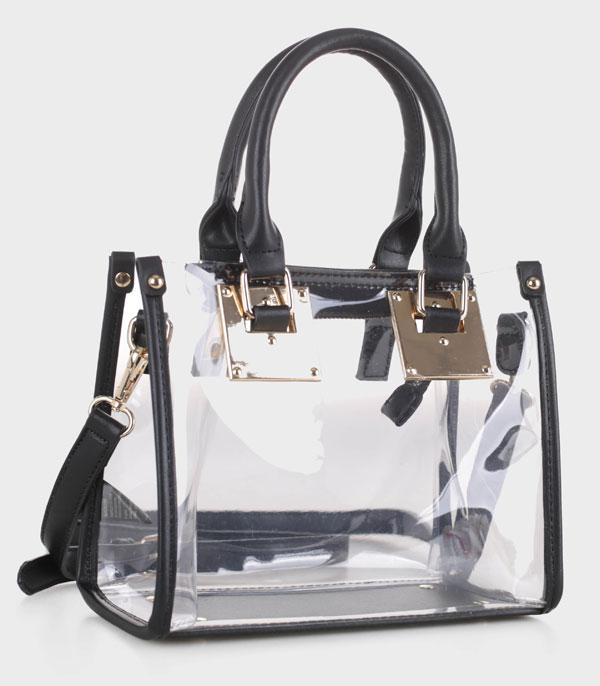New Arrival :: Wholesale Transparent Clear Small Satchel