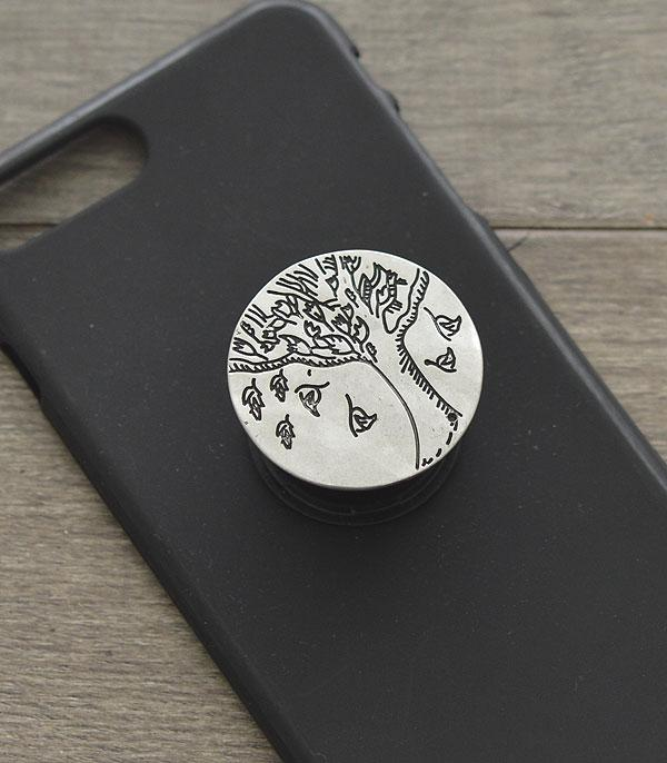 New Arrival :: Wholesale Tree Of Life Phone Adhesive Charm