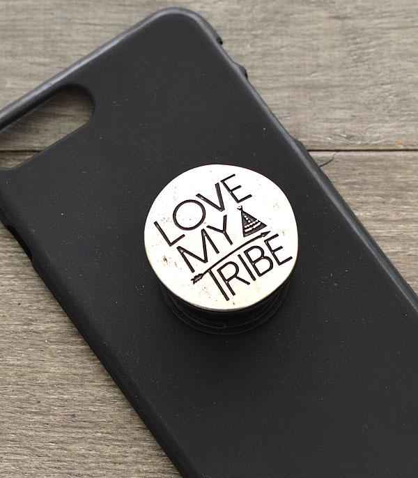 New Arrival :: Wholesale Love My Trible Phone Adhesive Charm