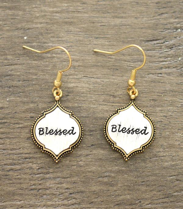 New Arrival :: Wholesale Blessed Dangle Earrings