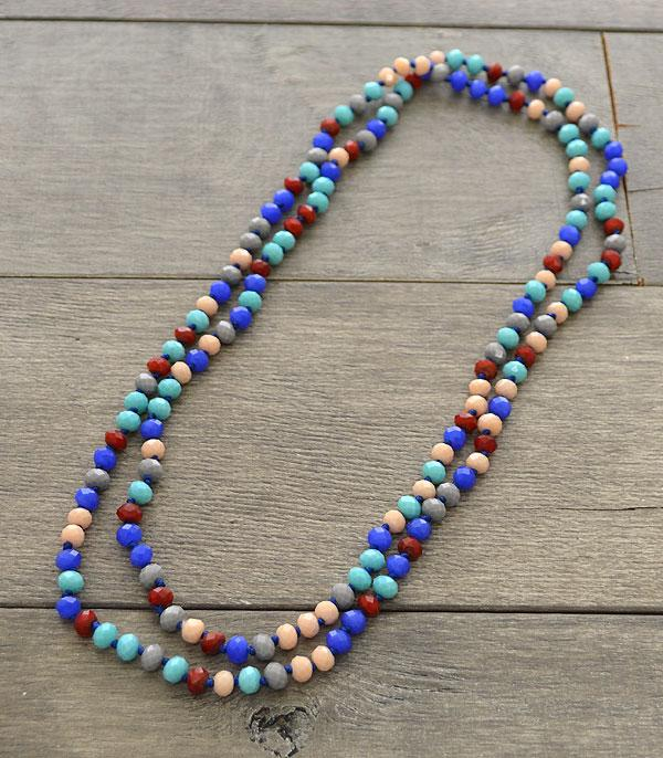 "New Arrival :: Wholesale 60"" Crystal Beads Long Necklace"