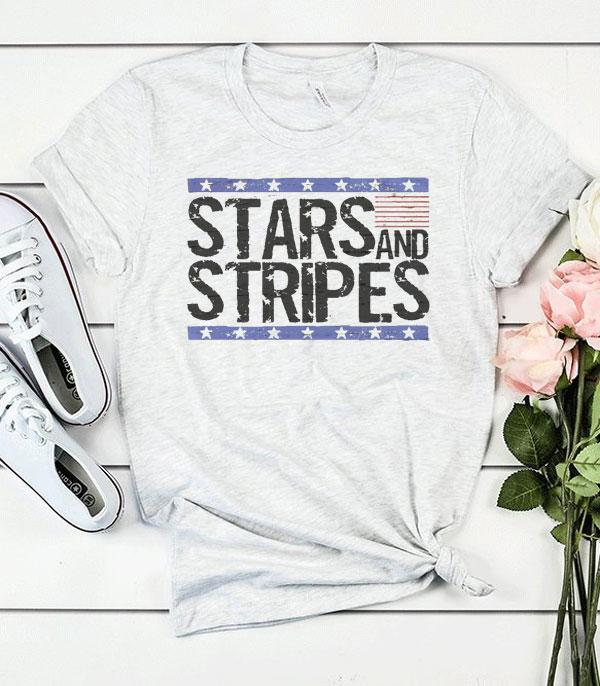 New Arrival :: Wholesale Stars Stripes Patriotic USA TShirt