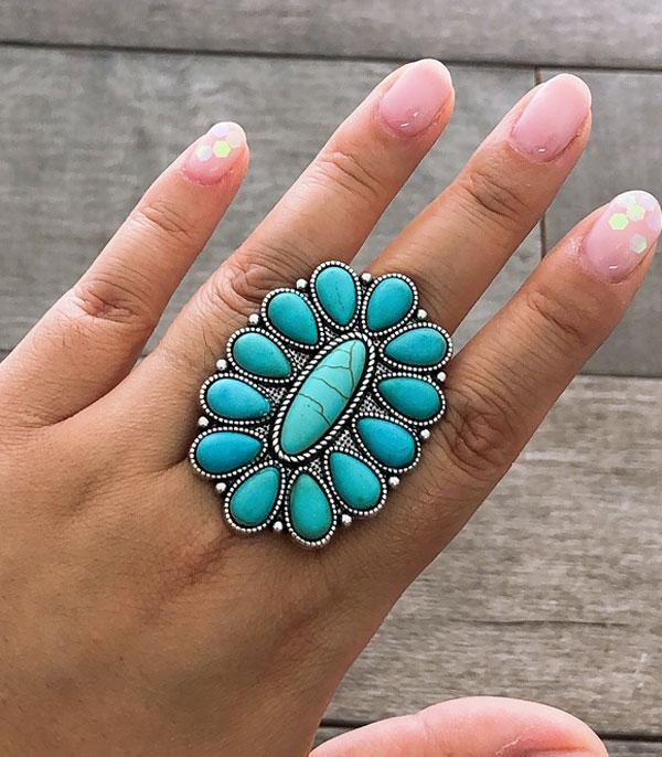 <font color=Turquoise>TURQUOISE JEWELRY</font> :: Wholesale Western Turquoise Stone Ring