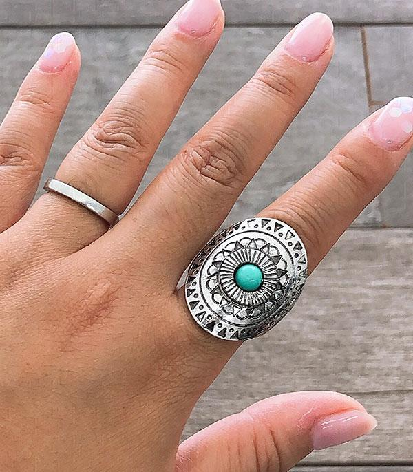 <font color=Turquoise>TURQUOISE JEWELRY</font> :: Wholesale Western Turquoise Silver Ring