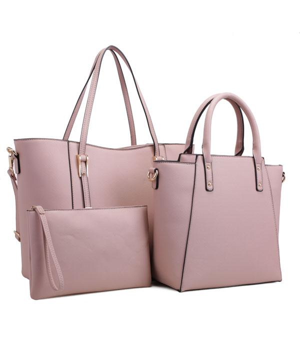 New Arrival :: Wholesale 3 In 1 Classic Tote Satchel Set Bag