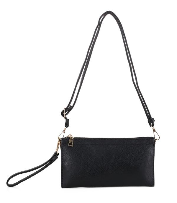New Arrival :: Wholesale Multi Compartment Crossbody Wristlet