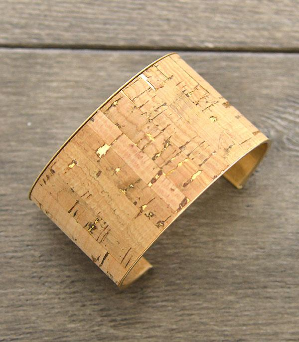 WHAT'S NEW :: Wholesale Cork Fashion Cuff Bracelet
