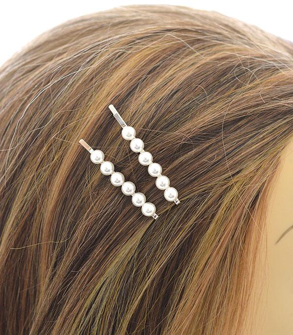 New Arrival :: Wholesale Pearl Hair Pin Set