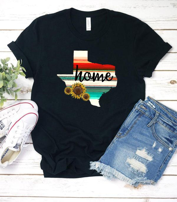 New Arrival :: Wholesale Serape Texas Home Vintage T-Shirt