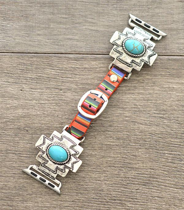 New Arrival :: Wholesale Serape Western Apple Watch Band