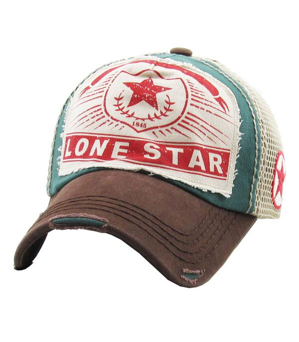 New Arrival :: Wholesale Lone Sta Vintage Mesh Hat