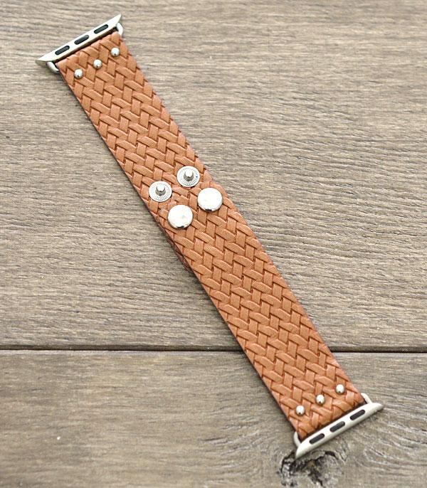 New Arrival :: Wholesale Woven Leather Apple Watch Band
