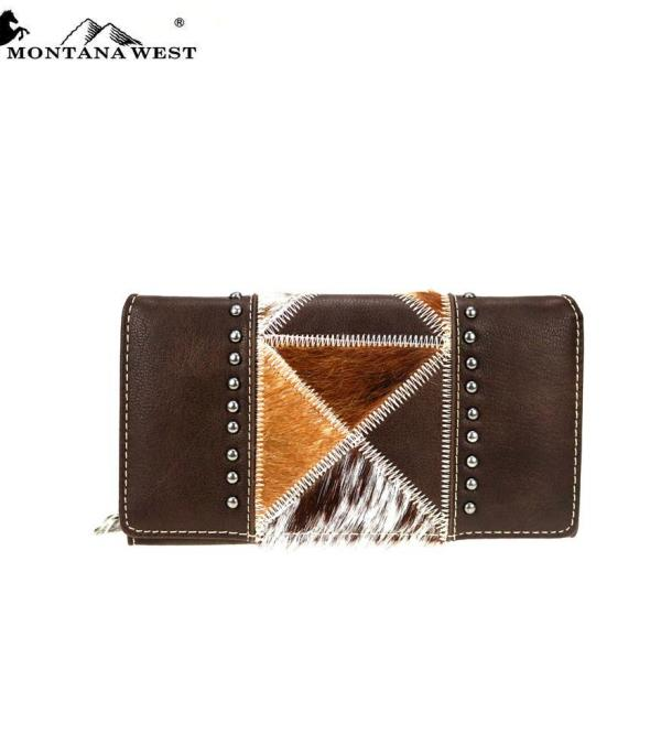 New Arrival :: Wholesale Trinity Ranch Leather Wallet