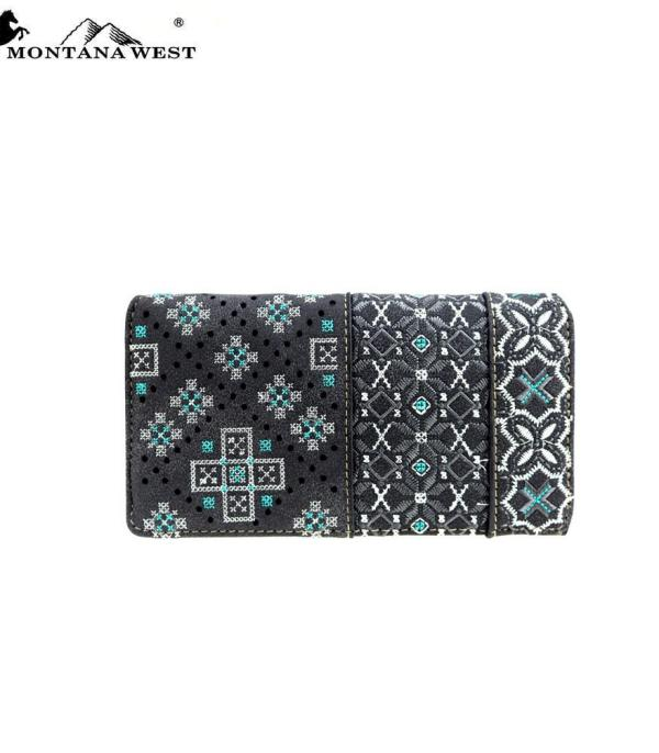 New Arrival :: Wholesale Montana West Embroidered Wallet