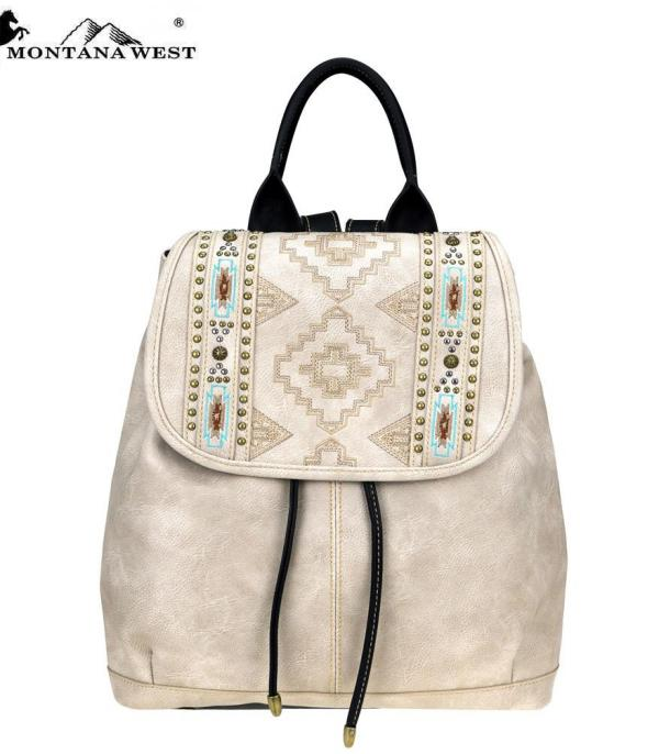 BACKPACKS | LUNCH BAGS :: Wholesale Montana West Aztec Backpack
