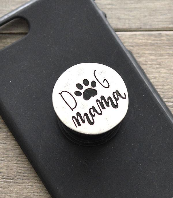 WHAT'S NEW :: Wholesale Dog Mama Engraved Phone Grip Charm