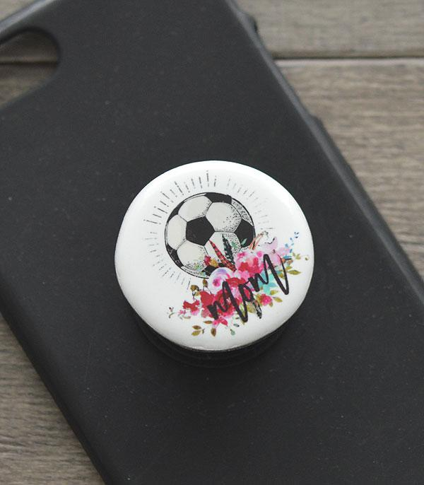 PHONE ACCESSORIES :: Wholesale Soccer Mom Phone Grip Charm