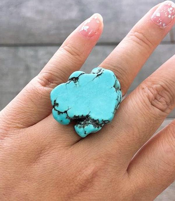 New Arrival :: Wholesale Turquoise Stone Ring